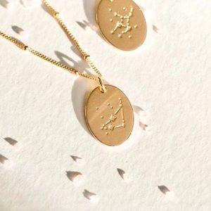 Capricorn Bohemian Minimal Zodiac Beaded Necklace